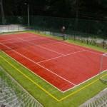 Teren de tenis/fotbal